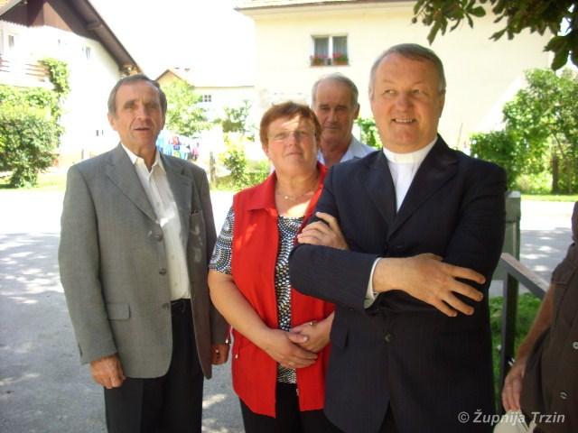 dr. Bogdan Dolenc - 10 let delovanja v župniji Trzin